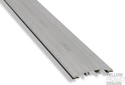 TIJDELIJK NIET LEVERBAAR Drempelprofiel aluminium 1,5cm hoog
